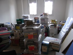 our apartment after